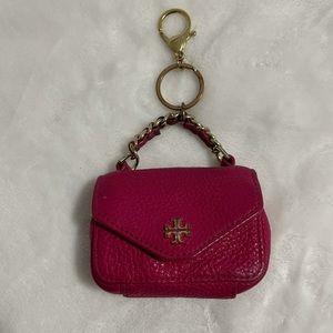 Tory burch mini kira keychain bag charm